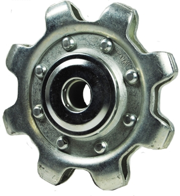"Picture of Gathering Chain Idler Sprocket, 8 tooth, 5/8"" Bore."