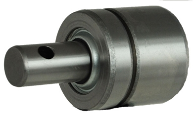 Picture of Bearing with Cross hole for gage wheels.