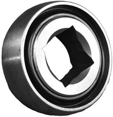 "Picture of Bearing with 1 1/2"" Square Center"
