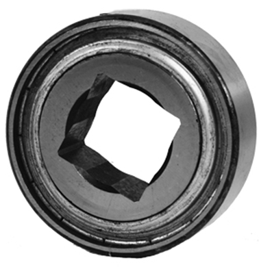 "Picture of Bearing with 1 1/2"" Square Center, Flat O.D."