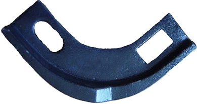 Picture of Cast Bearing Guard for Round flanges.