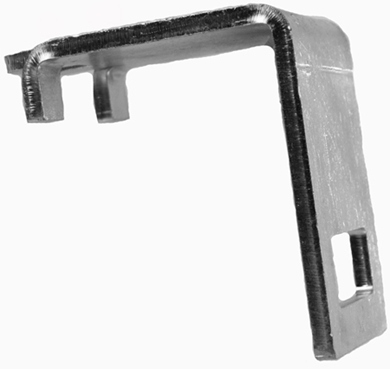 "Picture of Universal Mounting Bracket, 3"" square."