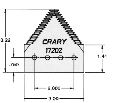 Picture of Crary Section, Gold 'n Cut