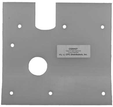 Picture of Poly Skid Plate Repair, IH1020 New Style Gear Box cover