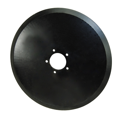 "Picture of 16"" Single disc fertilizer blade only."