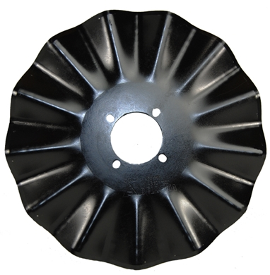 "Picture of 17"" 13 Wave, 4 bolt, 1"" cut."