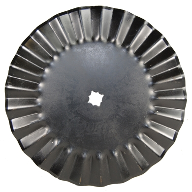 "Picture of 20"", 25 Wave Blade to fit disc arbors."