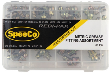 Picture of Metric Grease Fitting Assortment, 31 pcs.