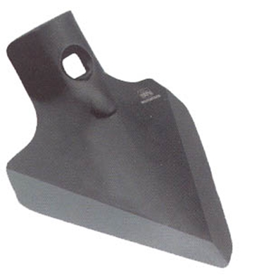 "Picture of 4"" x 1/4"" V-point Shovel to fit Vicon."