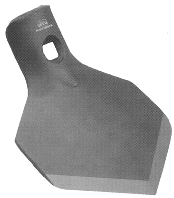 "Picture of 4"" x 1/4"" Duckfoot Shovel to fit Vicon."
