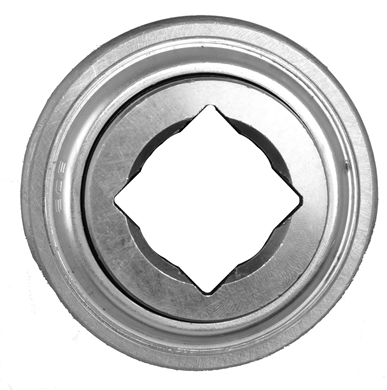 "Picture of Bearing with 1 1/8"" Sq. Hole, Flat OD"