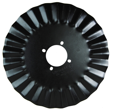 "Picture of 20"" diameter, 4 bolt coulter"