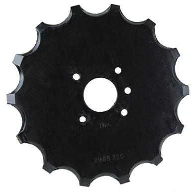 """Picture of 10"""" x .256 fert. Wheel."""