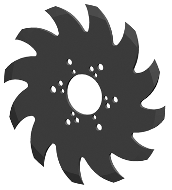 Picture of SHARK TOOTH WHEEL