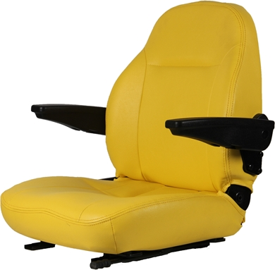 Picture of High Back Seat, Yellow.