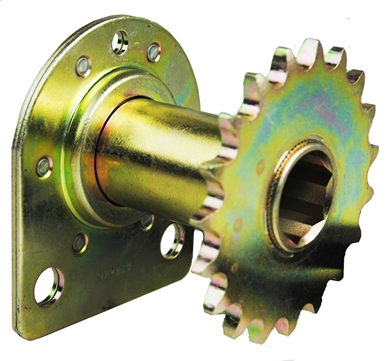 Picture of Sprocket & Bearing for Row Unit.