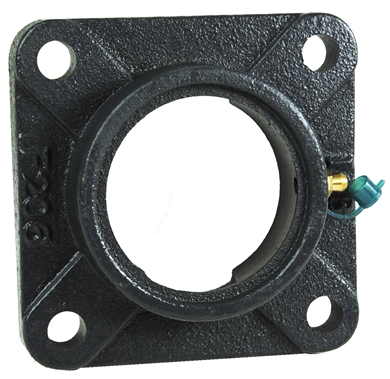 Picture of Cast flange for 206 bearings.