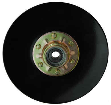 "Picture of 8"" Covering Disc, smooth edge."