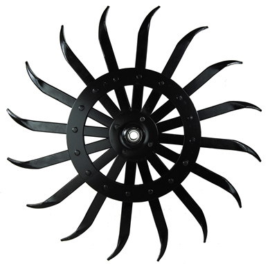 Picture of Rotary Hoe Wheel Replacemnt, black