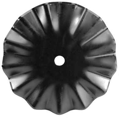 "Picture of 22"" 13 wave, 1 3/4"" Rd **"