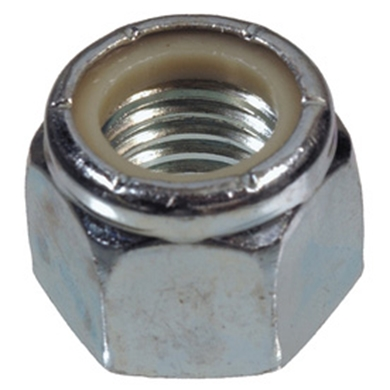 "Picture of 1/2"" NYLON  LOCK NUT, 50/PKG"