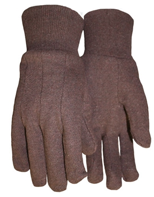 Picture of Brown Jersey glove, LG.