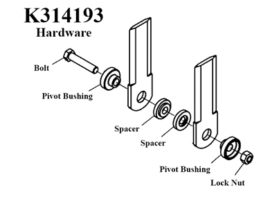 Picture of K314193 Hardware kit