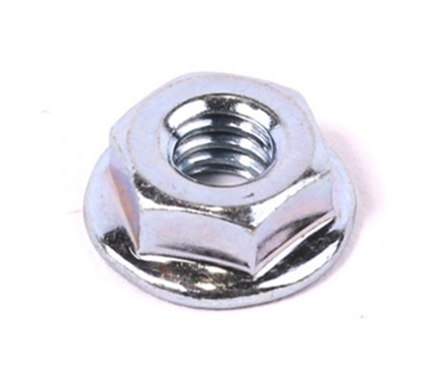 """Picture of 1/4"""" Serrated flange nut"""